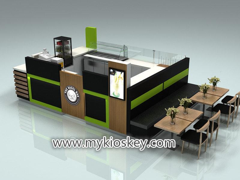 sweet macarons kiosk