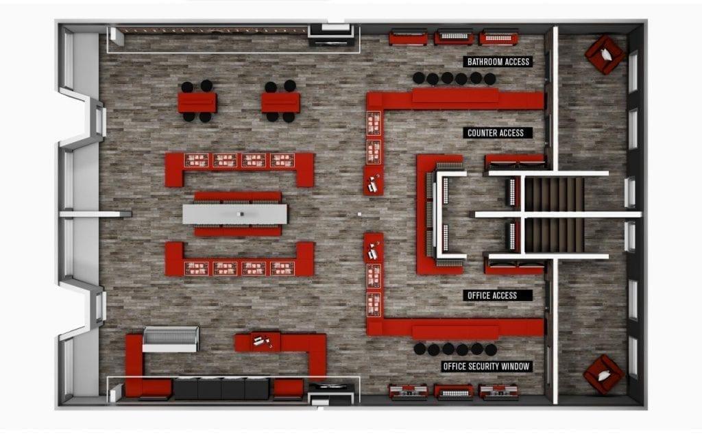 electronic cigarette retail store design