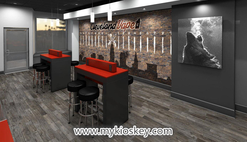 electronic cigarette retail store design