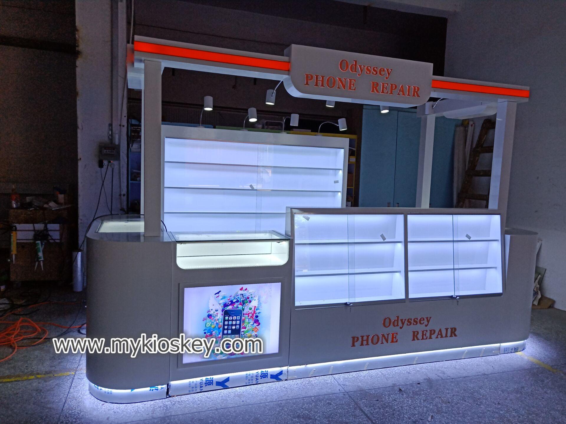 shoes display kiosk