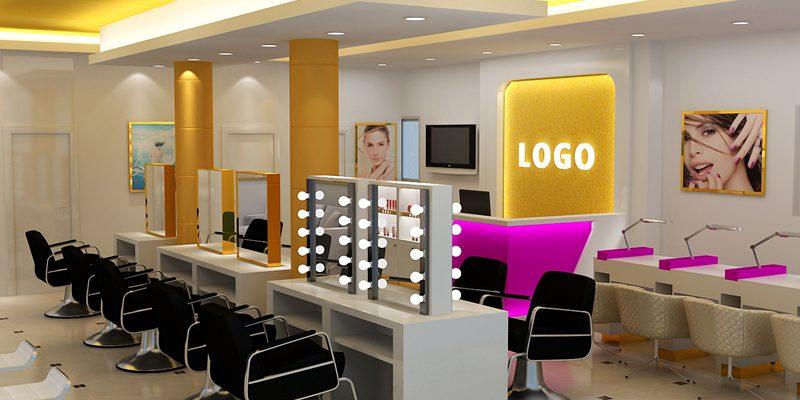 Retail Beauty Shop Facial Care Shop Interior Design With Salon Furniture