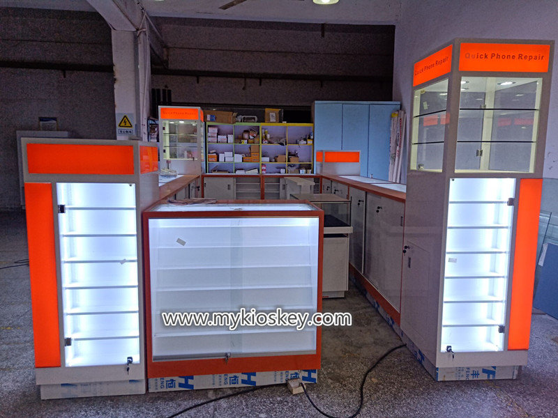 mobile phone retail kiosk