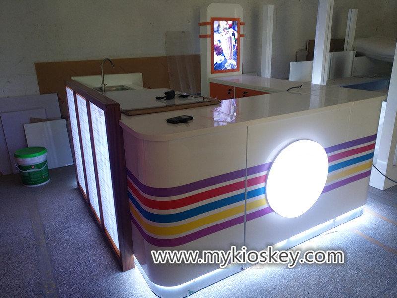 milkshakes kiosk