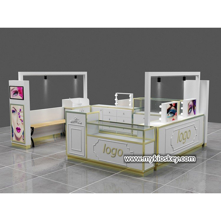 phone accessories display booth