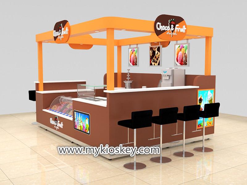 choco ice cream kiosk