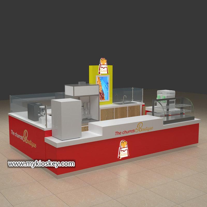 Spain churros kiosk