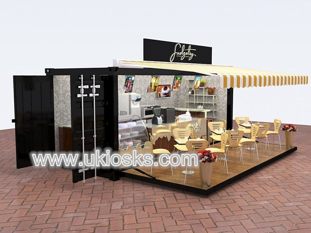 portable container restaurants