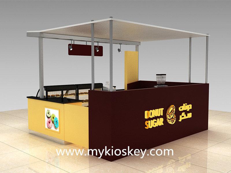 mall  donut kiosk