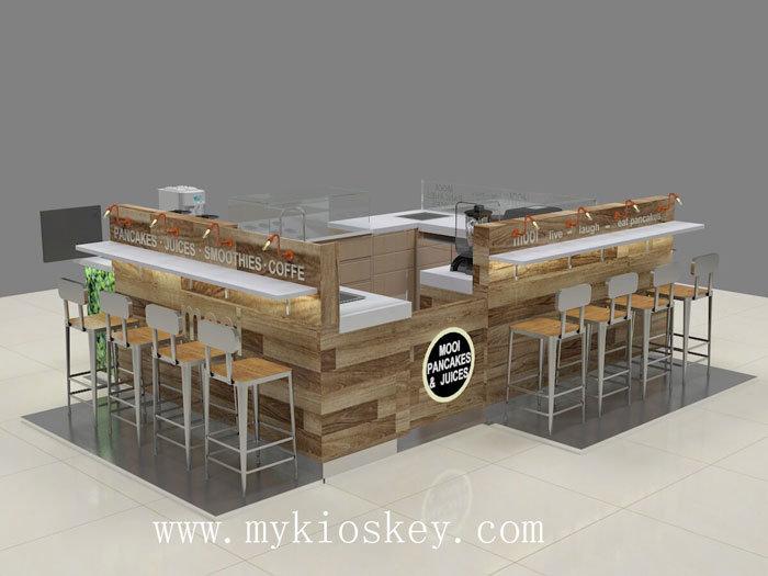 mall smoothies kiosk