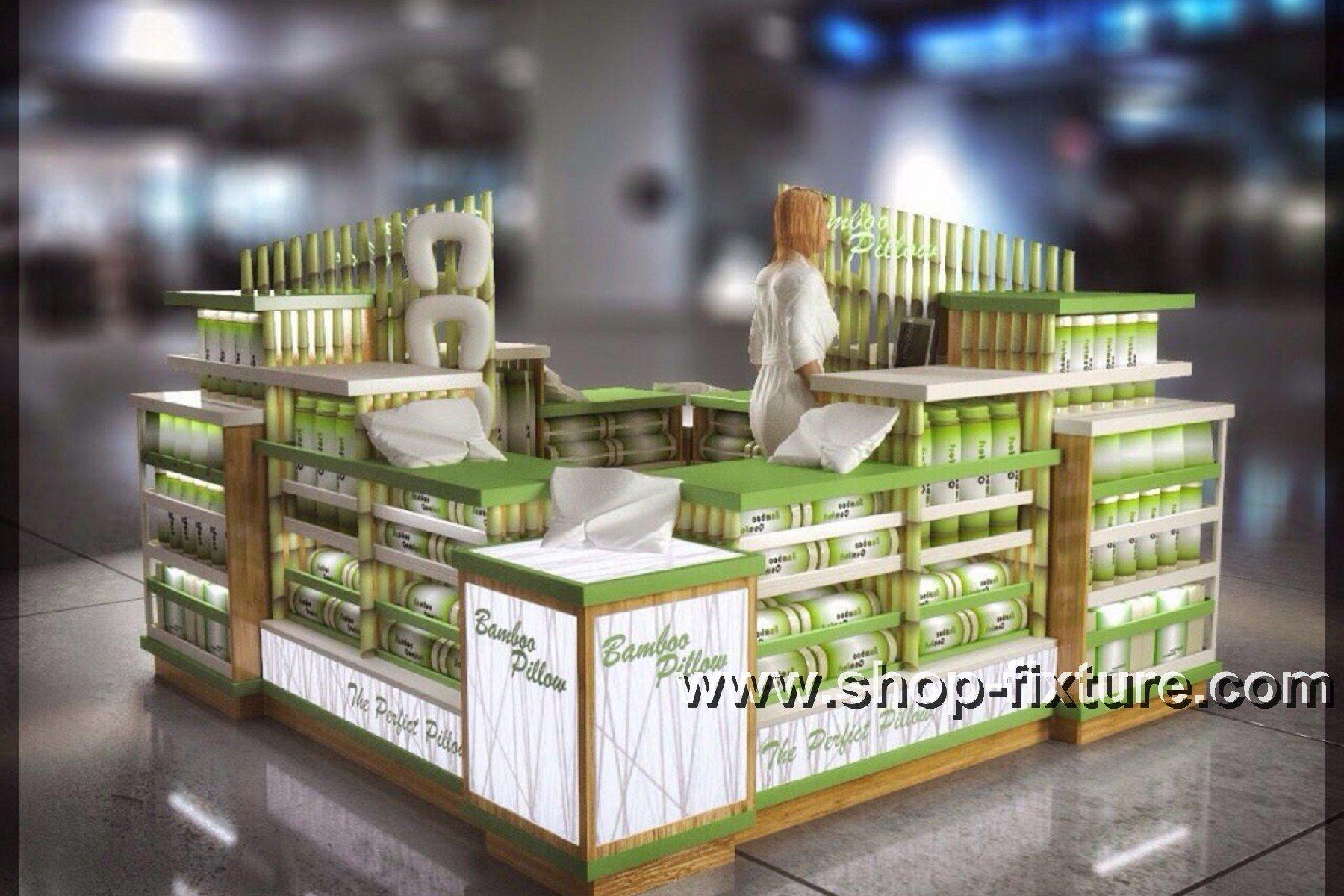 pillow kiosk