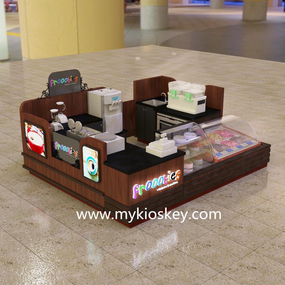 smoothies&milkshakes kiosk