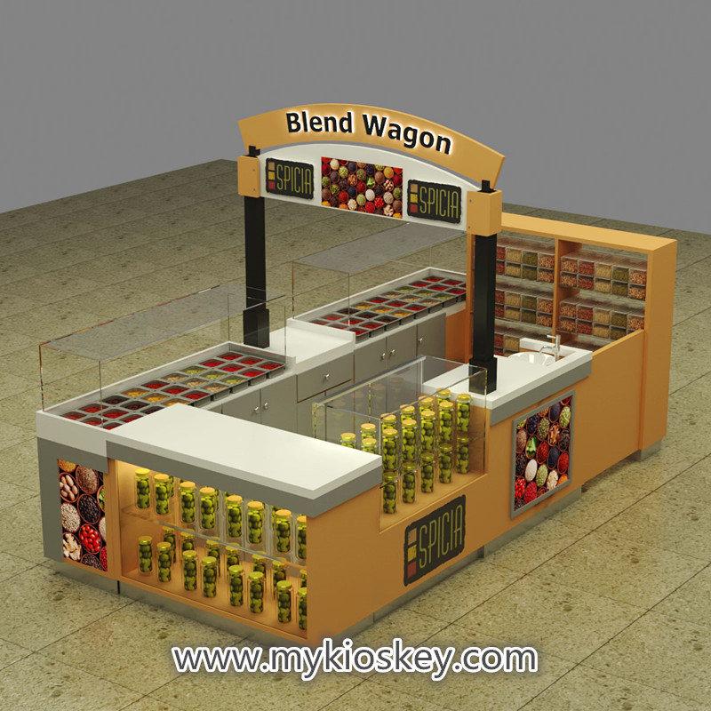 blend spices kiosk