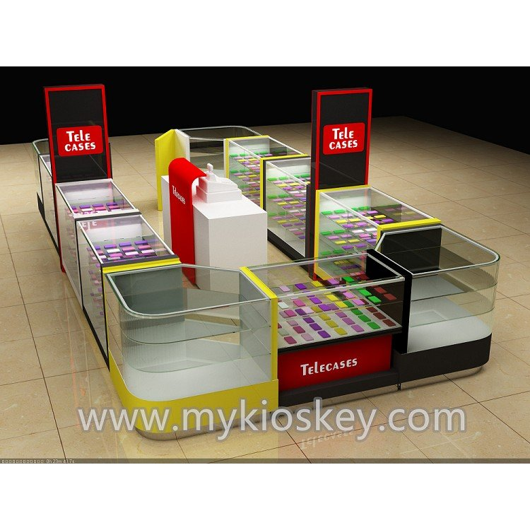 mobile phone shop counter