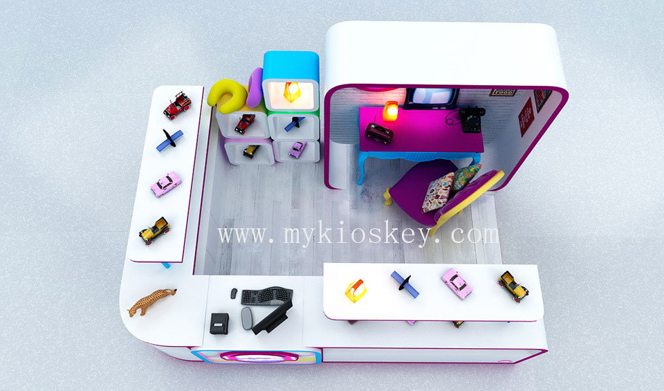 toys display booth