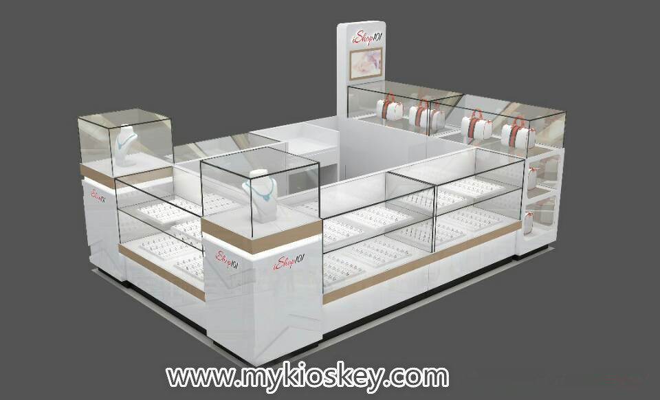 fashion accessories display kiosk