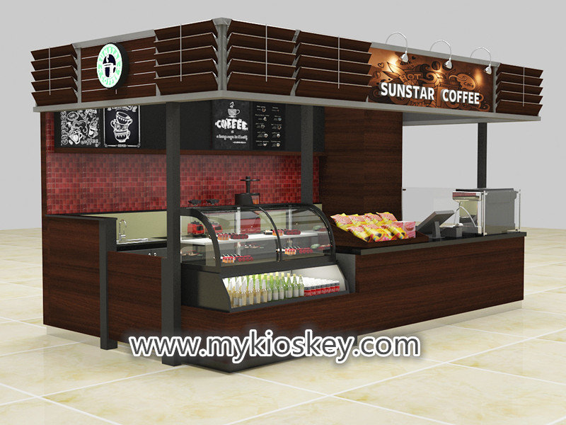 mall coffee kiosk
