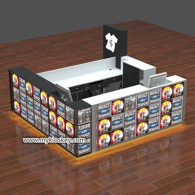 3d T-shirt printing kiosk