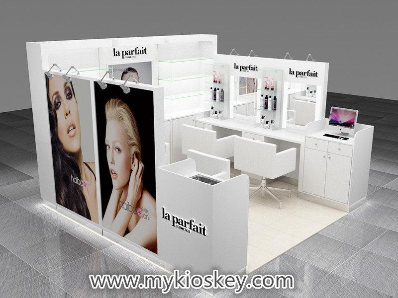 hair dressing kiosk