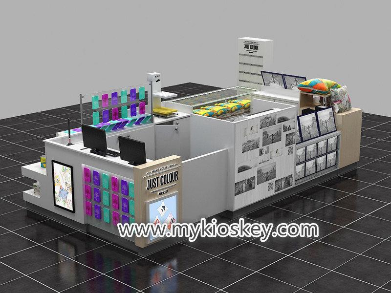 3D photo printing kiosk