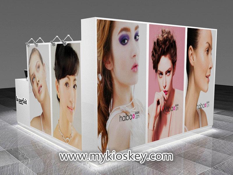 mall skin care kiosk