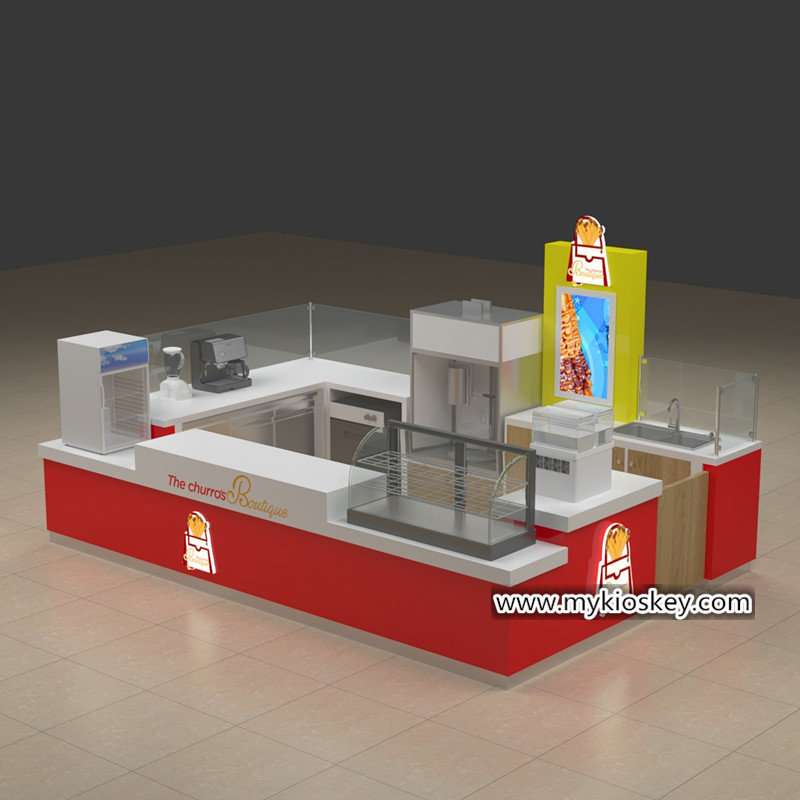 churros display kiosk