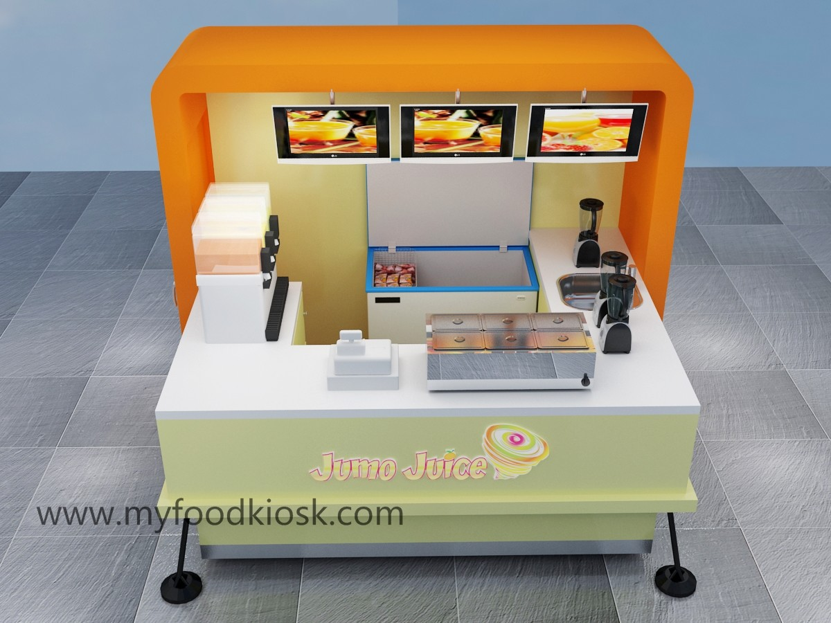 outdoor food kiosk