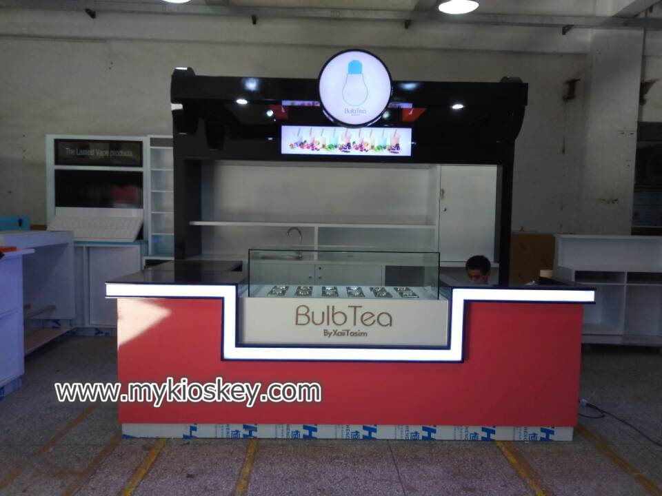 bubble tea kiosk