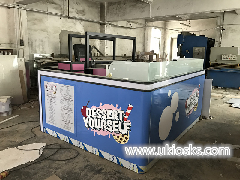 dessert kiosk