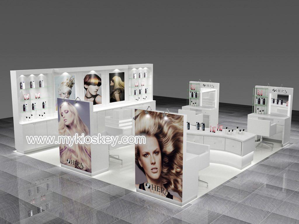 hair exhibition kiosk