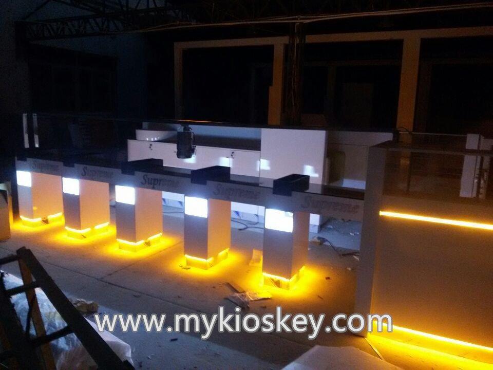 the ship style kiosk