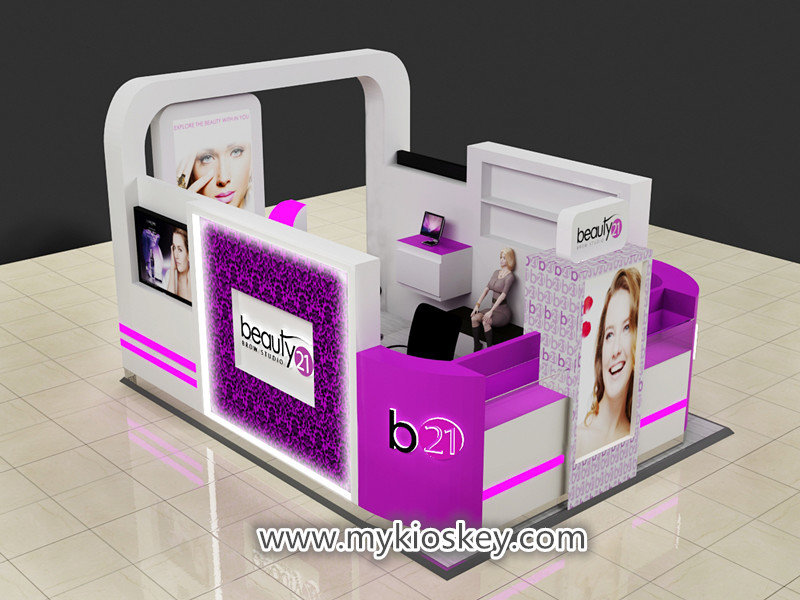 eyebrow salon bar for mall