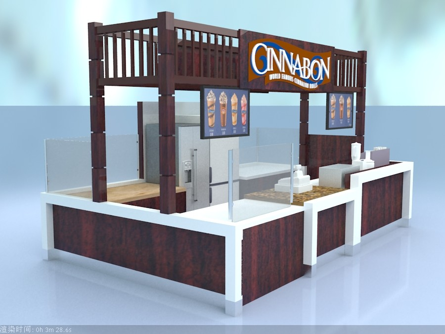 coffee kiosk design for sale