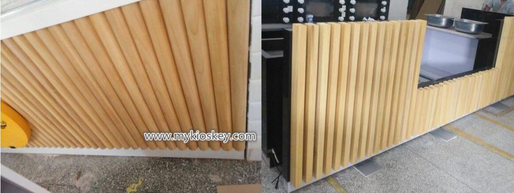 solid wood strip