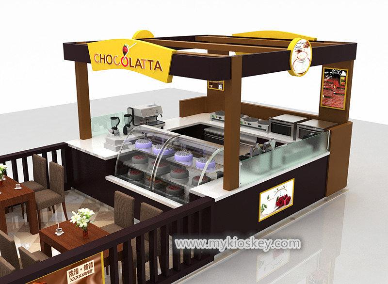 chocolate shop kiosk