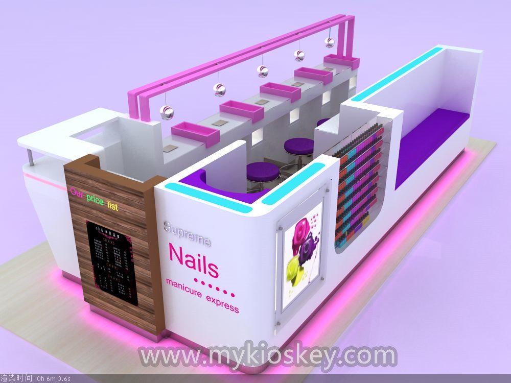 nail salon kiosk