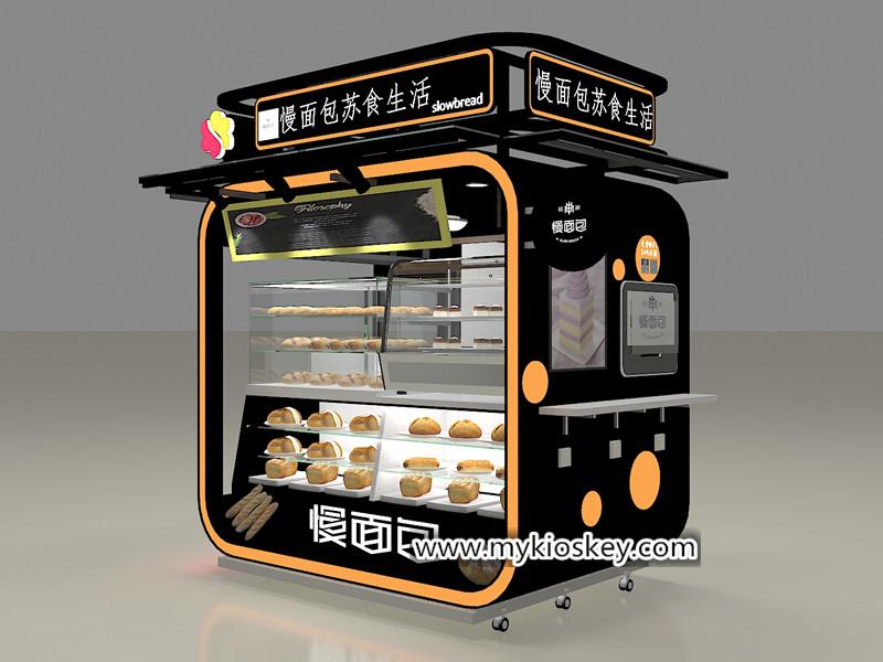bakery display kiosk