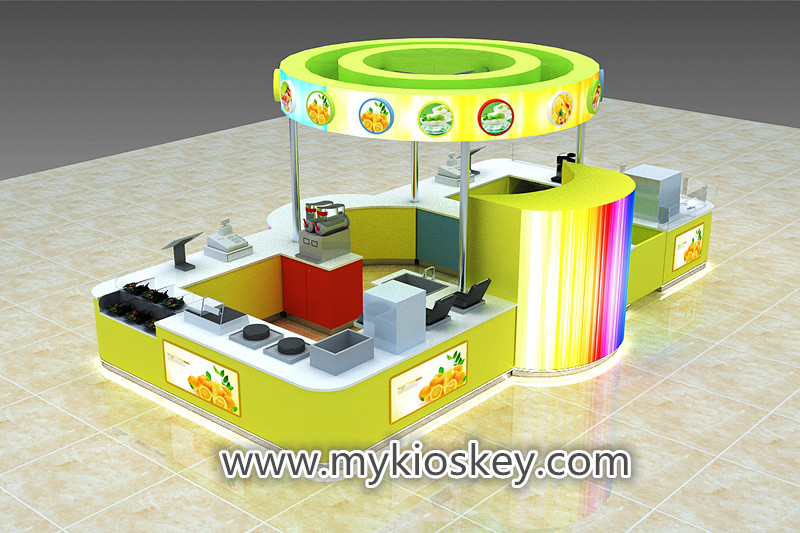smoothie juice bar kiosk
