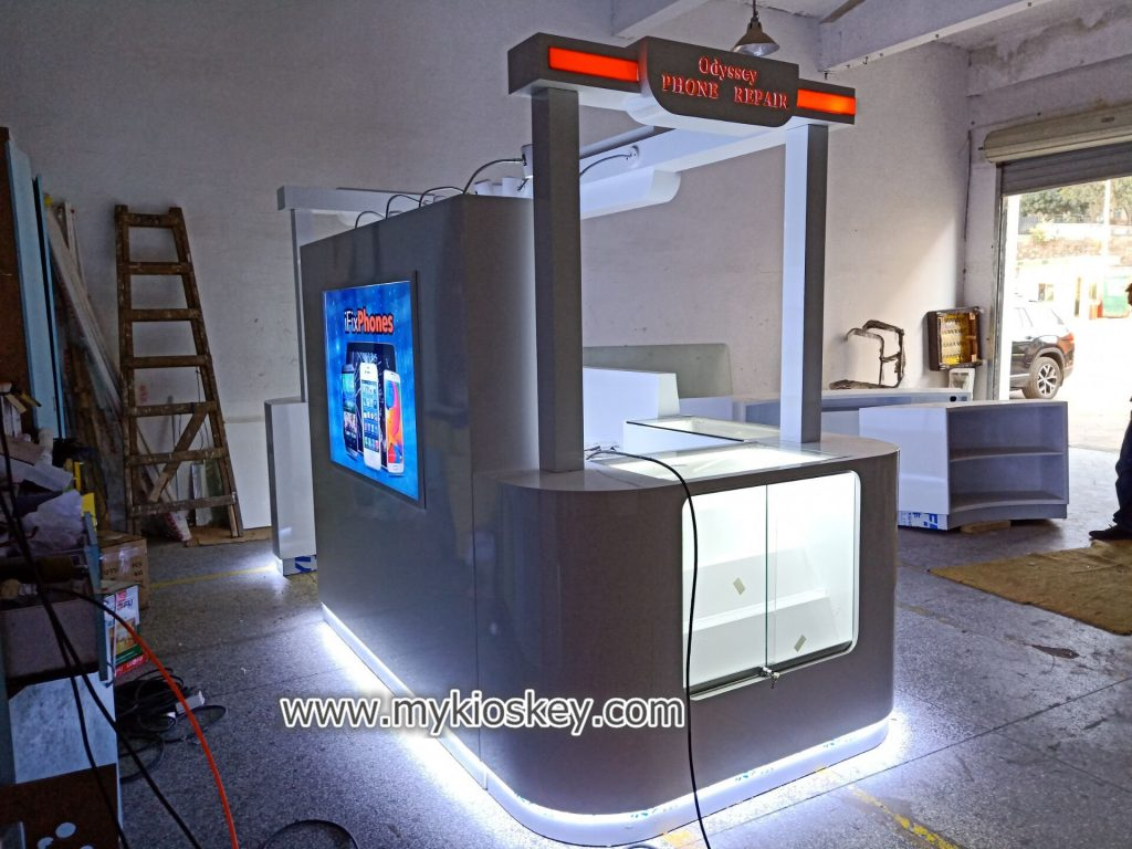 mobile phone fix kiosk