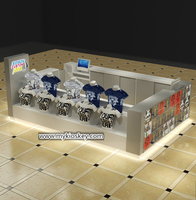 T shirt printing kiosk