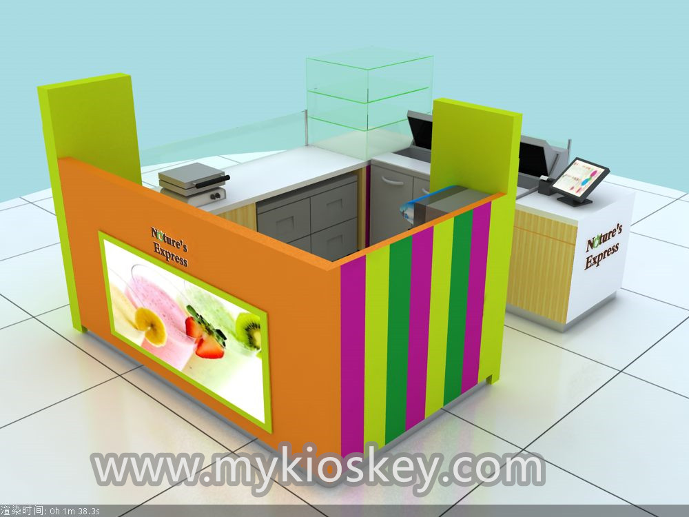 fresh juice bar kiosk