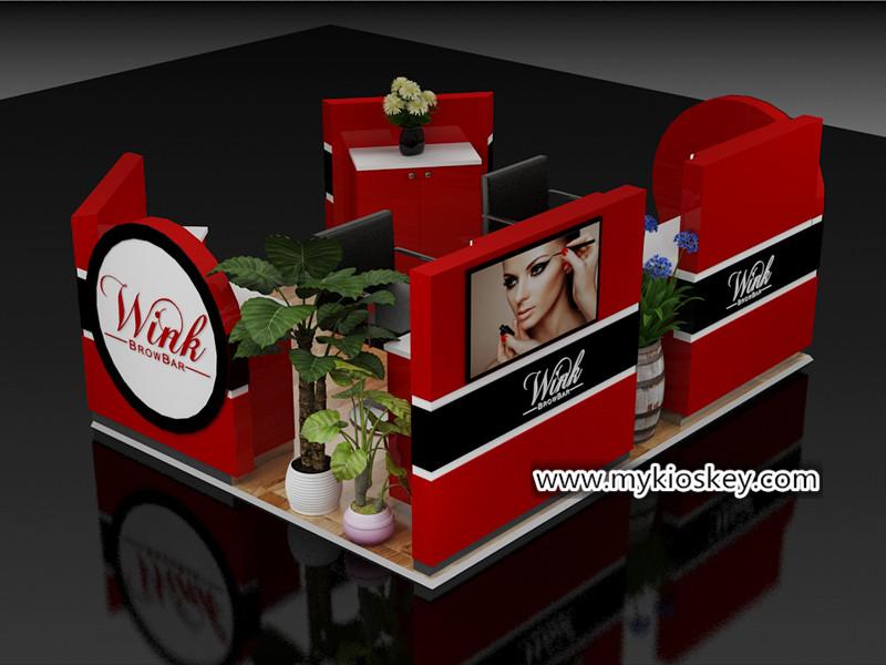 brow bar kiosk