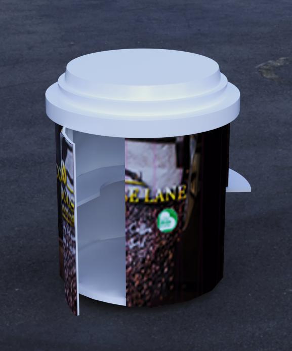 coffee outdoor kiosk