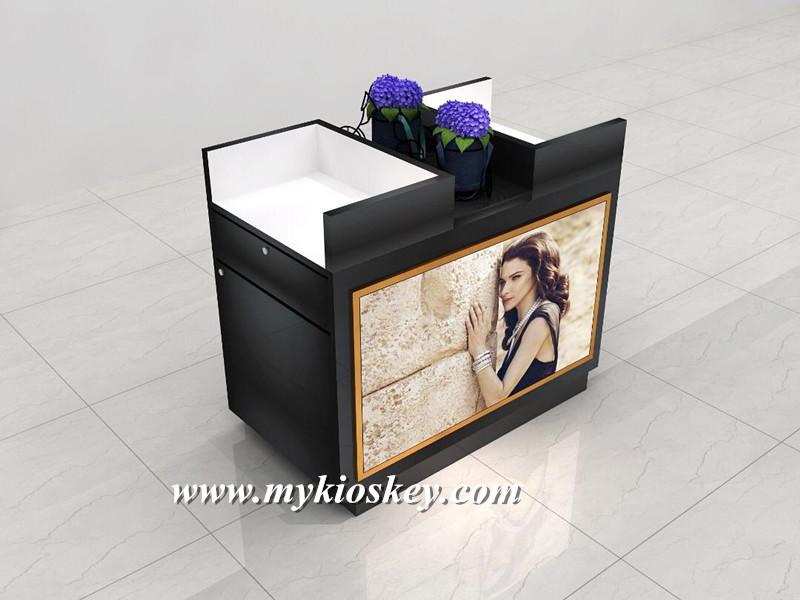 black display stand