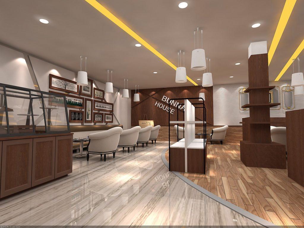 coffee store fixture