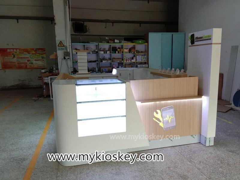 phone shop kiosk